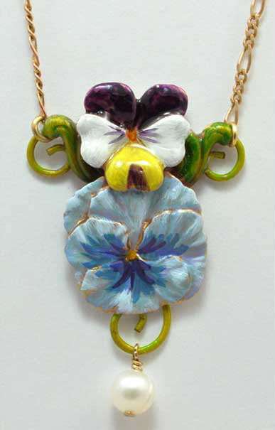Faithfulness Necklace Blue