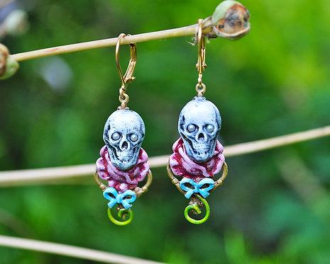 Wholesale: Sugar Skull Earrings
