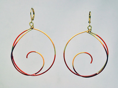 Destination Earrings Coral