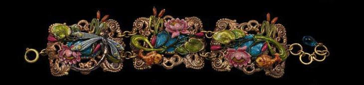 The Lily Pond Collection: Bracelet