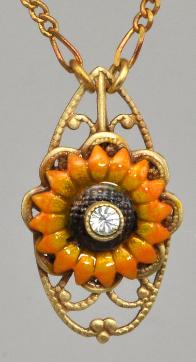 Wholesale: Garden Sunflower Necklace