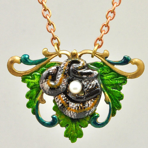 Wholesale The Wildlife Collection: Rattlesnake Necklace