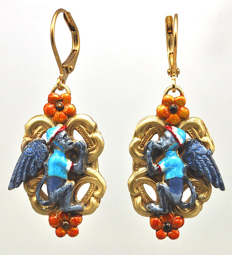 Flying Monkey Earrings