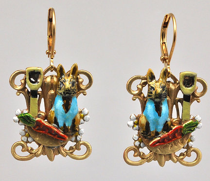 Wholesale: Peter Rabbit Earrings
