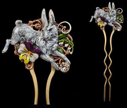 The White Rabbit Collection: Hair Pin