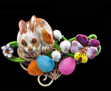 Joyous Easter Pin