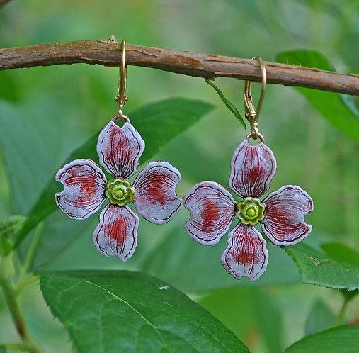 Wholesale: Garden Dogwood  Earrings