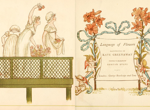 Kate Greenaway and The Language of Flowers