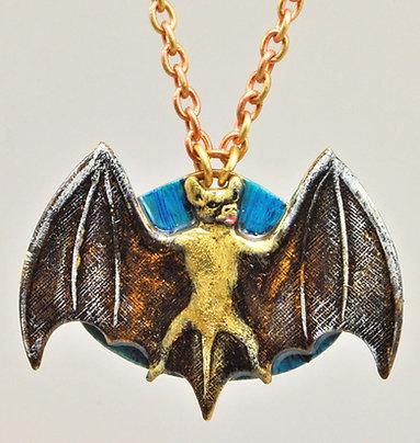 Big Brown Bat Necklace