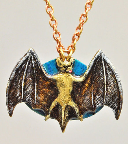 Wholesale The Wildlife Collection: Big Brown Bat Necklace