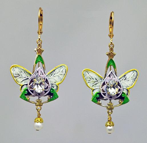 Garden Wedding Earrings