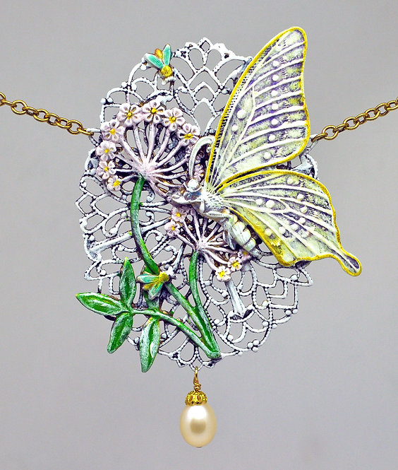Garden Wedding Necklace