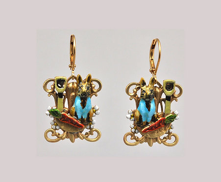 Peter Rabbit Large Earrings