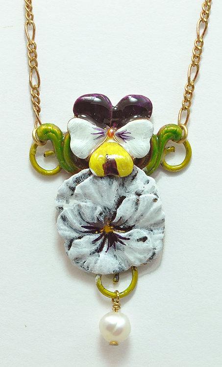 Faithfulness Necklace White
