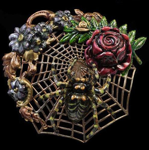 Web Weaver Brooch