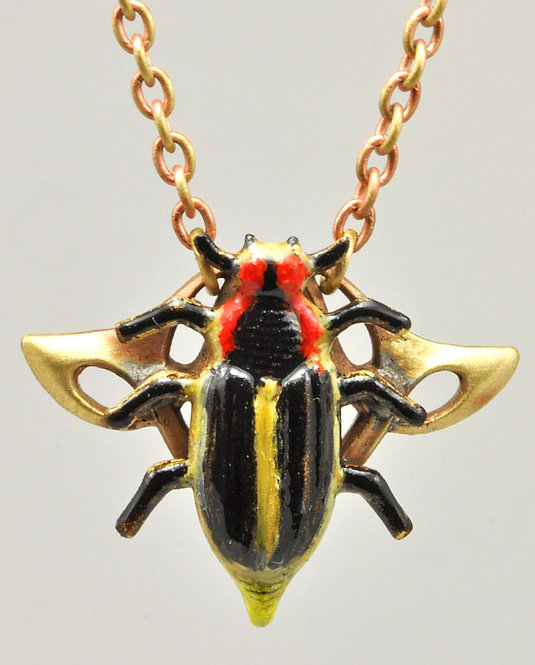 Wholesale The Wildlife Collection: Firefly Necklace