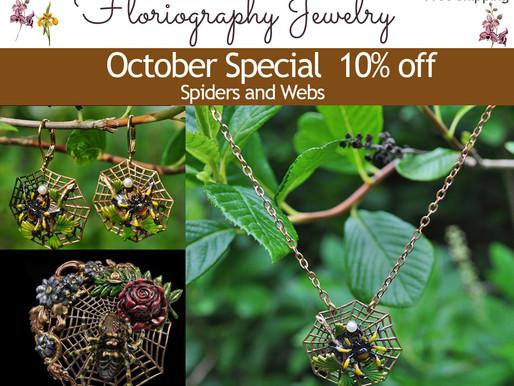 October Spiderwebs and Victorians