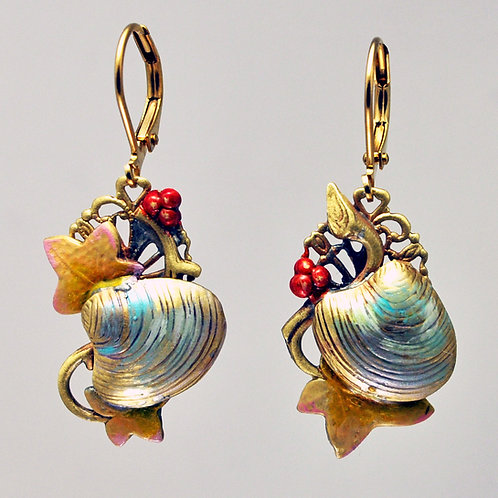 Mermaid's Garden Earrings