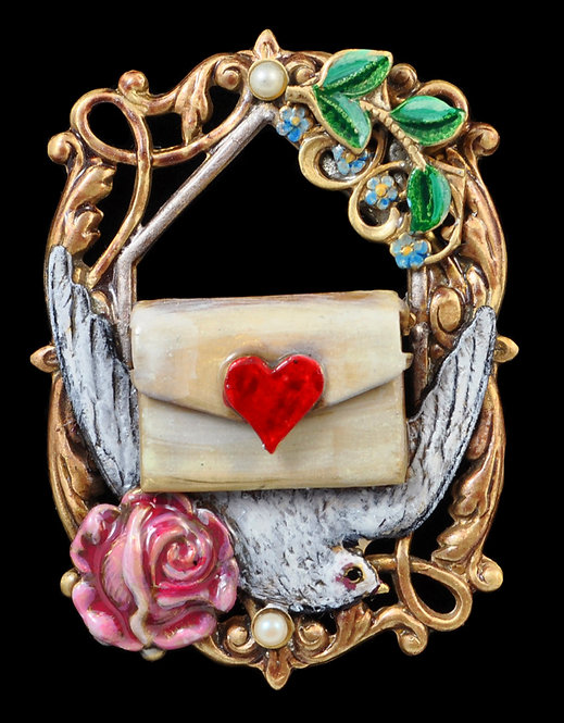 Valentine Message Pin