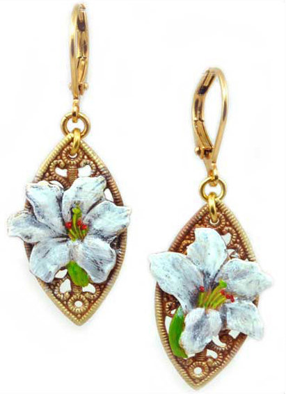 Wholesale: Garden Lily Earrings