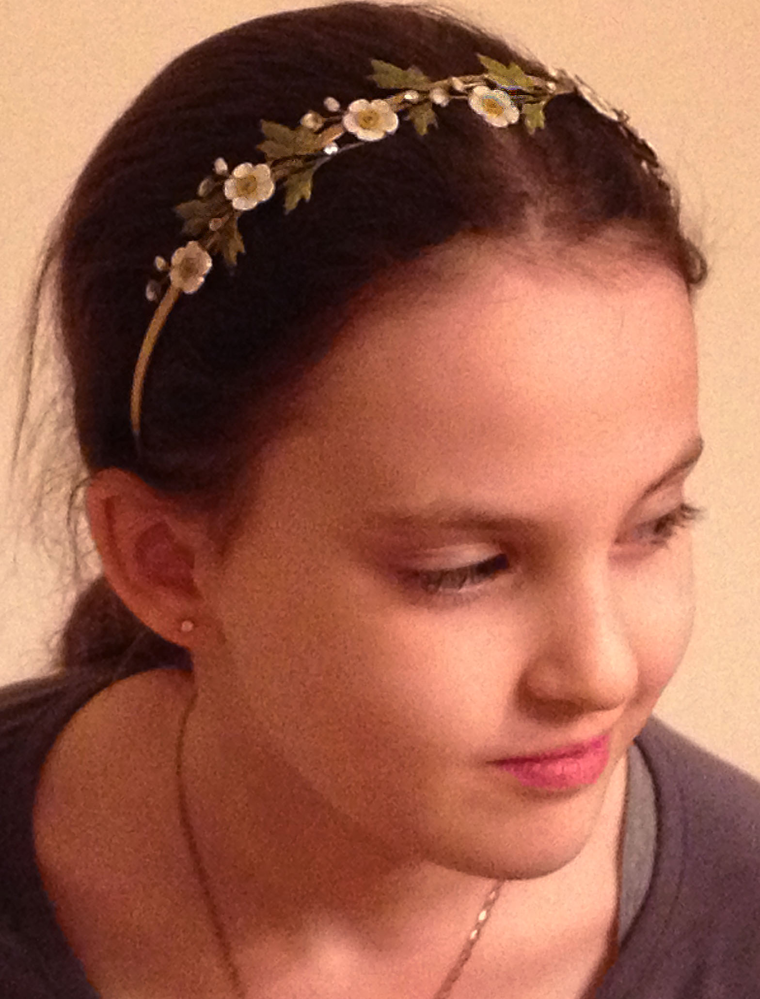 Tallie with diadem