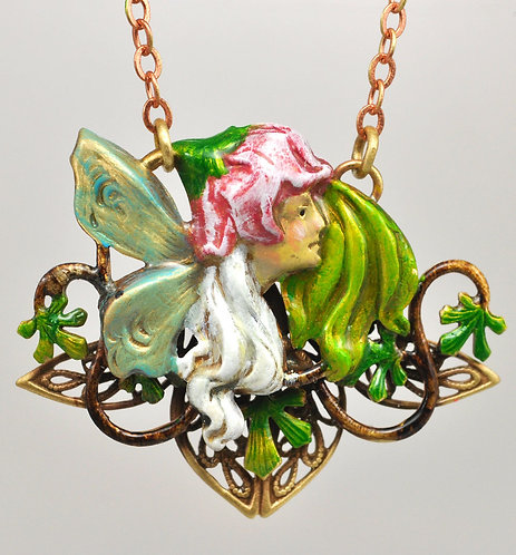 Wholesale: Faerie Pink Faerie Necklace