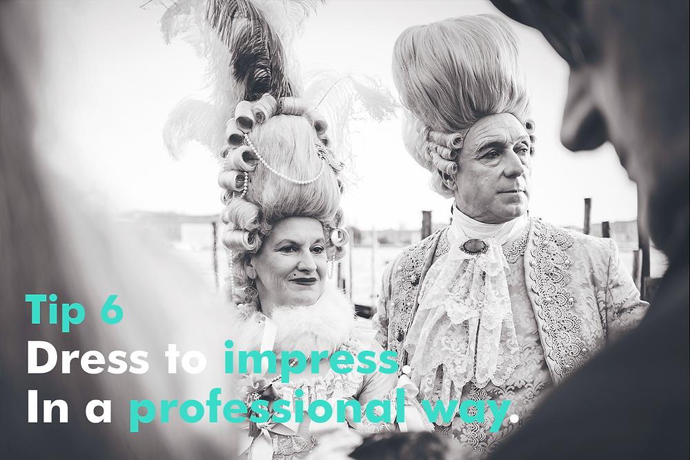 Public Speaking Dress Code: Keep it professional.