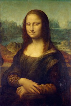Unexpectedly: Mona Lisa is wearing green (wikipedia.com)
