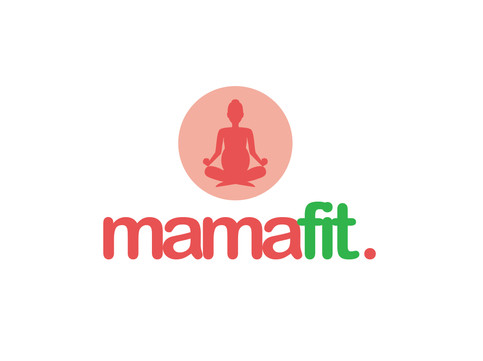 Logo mamafit vertical