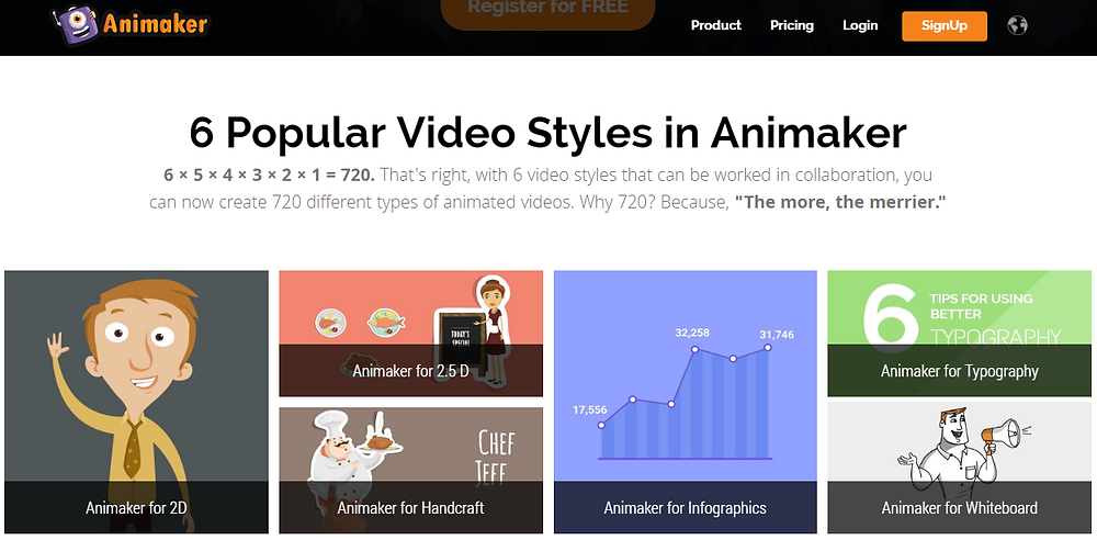 Animaker helps you to create great videos in minutes
