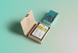 Angelina Dederer_Business card box