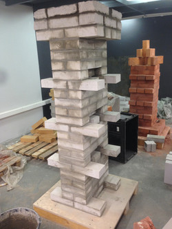 Final stage brick column