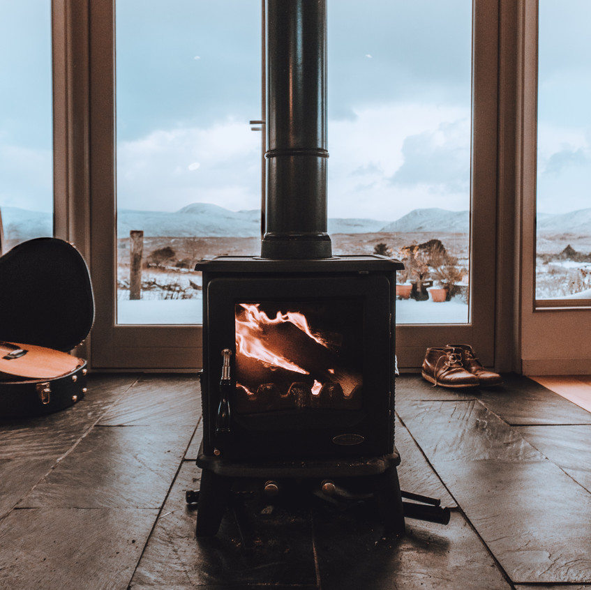 Hygge at home - Fireplace