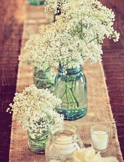 Brunch Decoration Flowers
