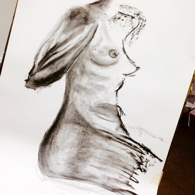 woman in the nude