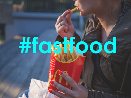 3 things to consider when eating fast food in public