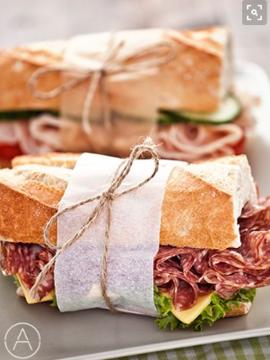Brunch food Sandwich