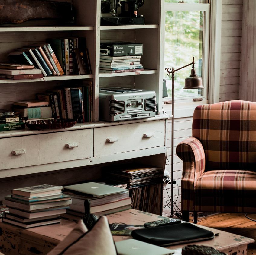 Hygge at home - Many books