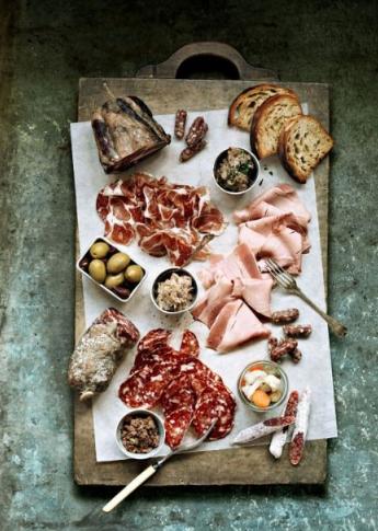 Brunch food Meat Platter