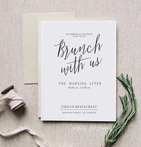 Brunch invitation #3
