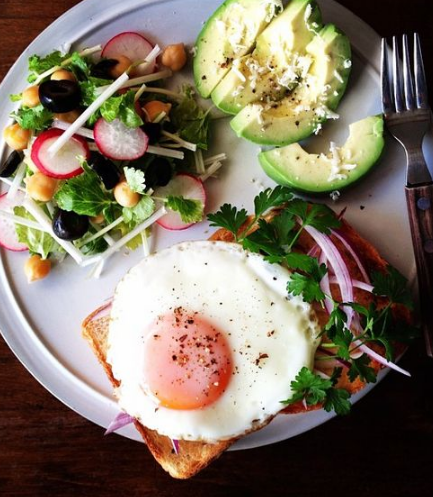 Brunch food Eggs