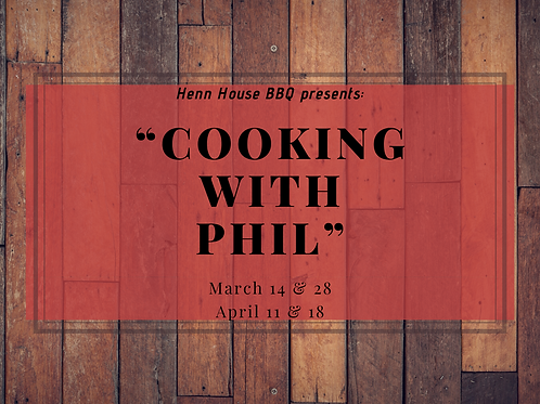 Cooking with Phil - ALL 4 WEEKS