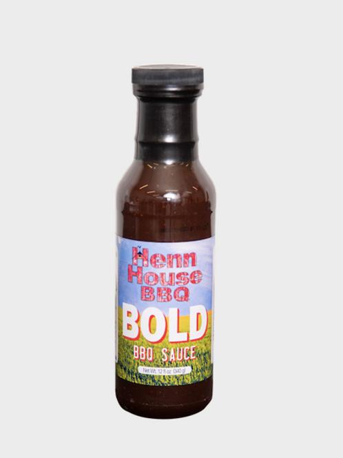 Henn House Bold BBQ Sauce