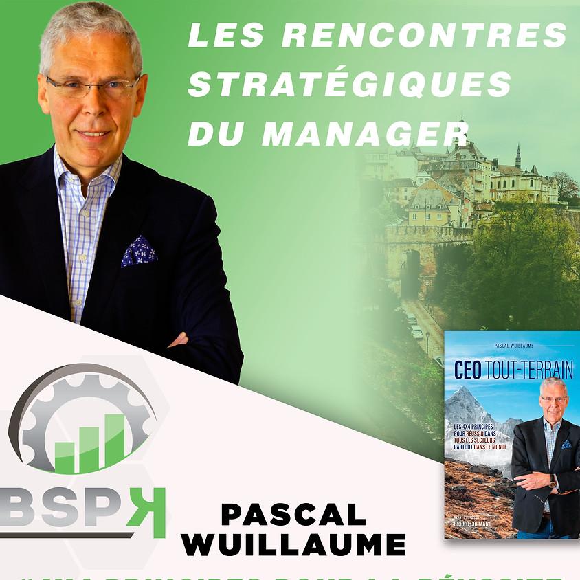 « 4x4 Principes pour la réussite du CEO ! » avec Pascal WUILLAUME