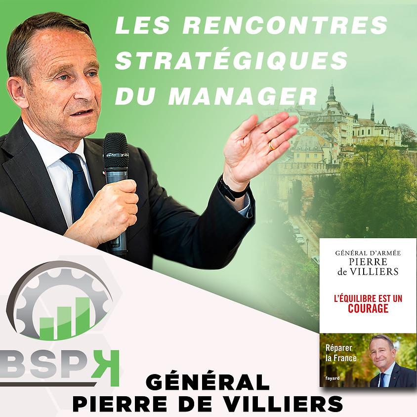 « Les CEO équilibrés et courageux » avec Général Pierre DE VILLIERS