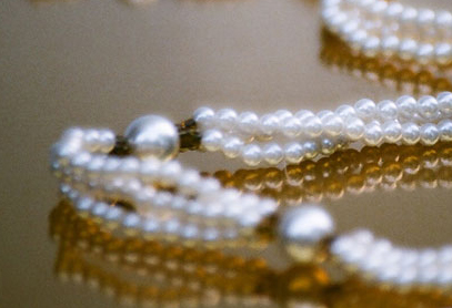 Pearl Necklace Closeup