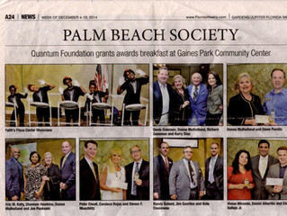 Faith's Place Featured in the Florida Weekly Newspaper