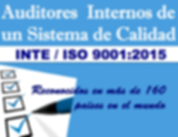 Certificacion Internacional válida en 160 paises con presencia de ISO