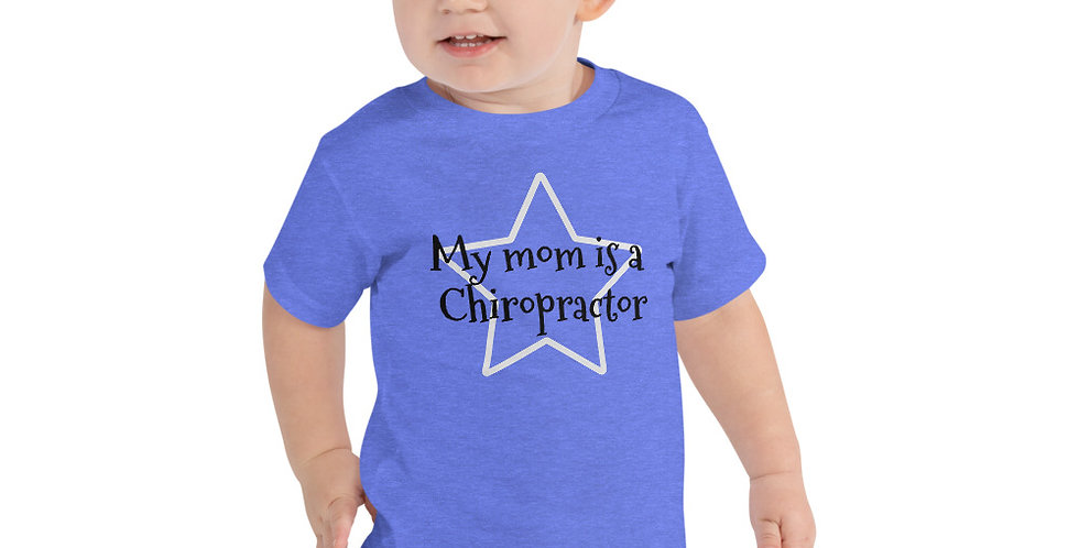 My Mom Toddler Short Sleeve Tee