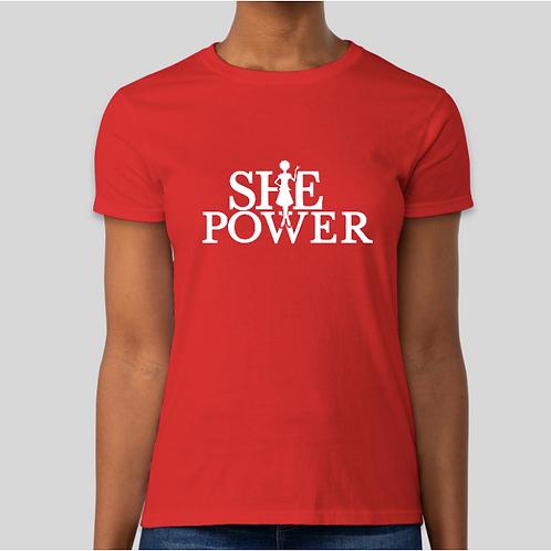 SHE Power T-shirt